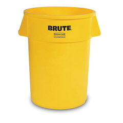 RCP2655YEL - Round Brute® Container