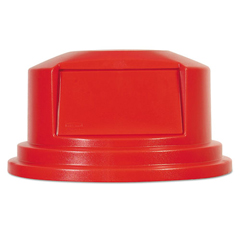 RCP265788RED - Rubbermaid® Commercial Round Brute® Dome Top