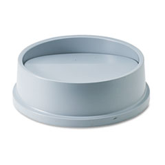 RCP267200GY - Rubbermaid® Commercial Untouchable® Round Swing Top Lid
