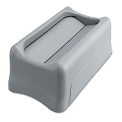 RCP267360GY - Rubbermaid® Commercial Slim Jim® Swing Lid