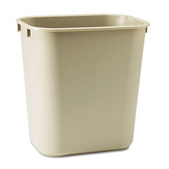 RCP295500BG - Rubbermaid® Commercial Deskside Plastic Wastebasket