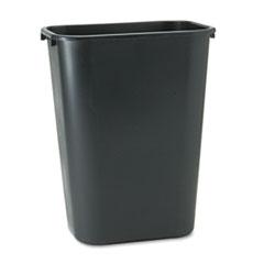 RCP295700BK - Rubbermaid Commercial® Deskside Plastic Wastebasket