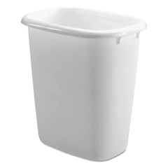RCP2958WHICT - Rubbermaid® Open-Top Wastebasket