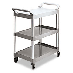 RCP342488PM - Rubbermaid Commercial® Three-Shelf Service Cart