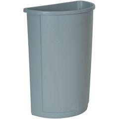 RCP3520GRA - Untouchable® Half-Round Plastic Receptacle