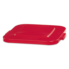 RCP3527RED - Rubbermaid® Commercial Square Brute® Lid