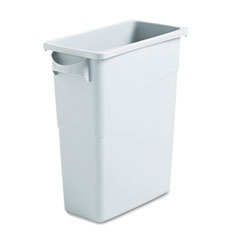 RCP354100GY - Rubbermaid® Commercial Slim Jim® Waste Container