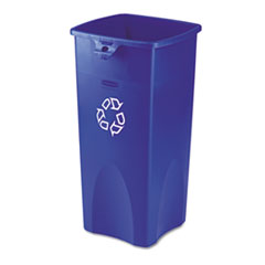 RCP356973BE - Rubbermaid® Commercial Untouchable® Square Recycling Container