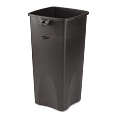 RCP356988BK - Rubbermaid Commercial® Untouchable® Square Container