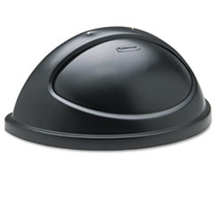 RCP362000BK - Rubbermaid® Commercial Untouchable® Half-Round Lid
