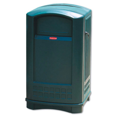 RCP3964DGR - Plaza™ Indoor/Outdoor Waste Container