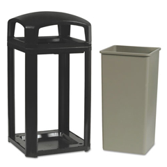 RCP3975SAB - Landmark Series® Classic Dome Top Container