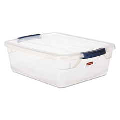 RCP3Q34CLE - Rubbermaid® Clever Store Snap-Lid Container