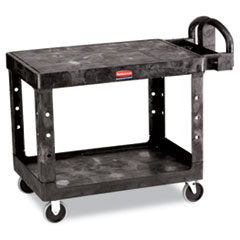 RCP452500BK - Rubbermaid® Commercial Flat Shelf Utility Cart