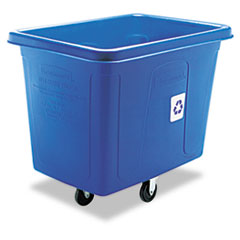 RCP461673BE - Rubbermaid® Commercial Recycling Cube Truck