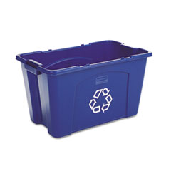 RCP571873BE - Rubbermaid® Commercial Stacking Recycle Bin