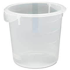 RCP5721-24CLE - Round Storage Containers