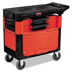 RCP618088BLA - Locking Trades Cart