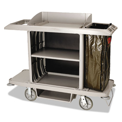 RCP6189PLA - Full-Size Housekeeping Cart