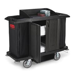 RCP6191BLA - Full-Size Housekeeping Cart