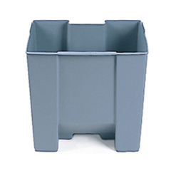 RCP6245GRA - Rigid Liner for Step-On Waste Container