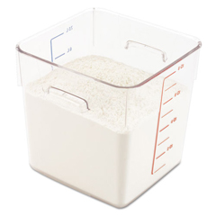 RCP6308CLE - SpaceSaver Square Containers