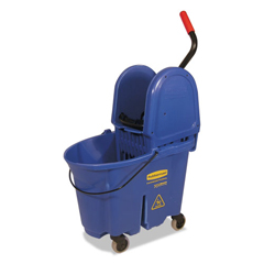 RCP757888BLU - Rubbermaid® Commercial WaveBrake® Bucket/Wringer Combos