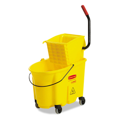 RCP758088 - Rubbermaid® Commercial WaveBrake™ Bucket/Wringer Combination Pack 7580-88