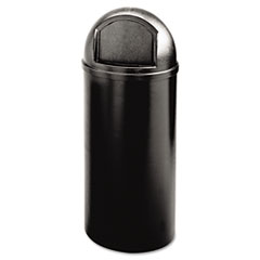 RCP816088BK - Rubbermaid® Commercial Marshal® Classic Container