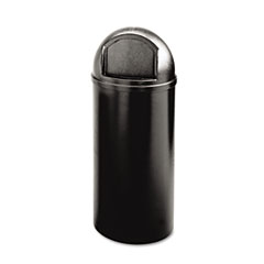 RCP817088BK - Rubbermaid® Commercial Marshal® Classic Container