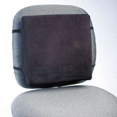 RCP91060 - Back Perch™ Backrest with Fleece Cover