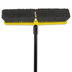 RCP9B07BLA - Tampico-Bristle Medium Floor Sweep