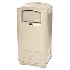 RCP9P9000BG - Rubbermaid Commercial® Plaza™ Indoor/Outdoor Waste Container