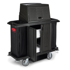 RCP9T19BLA - Full-Size Housekeeping Cart