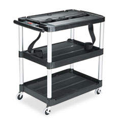 RCP9T28 - Rubbermaid Commercial® Media Master™ Three-Shelf AV Carts