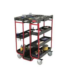 RCP9T57BLA - Ladder Cart With Open Ends