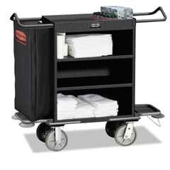 RCP9T59BLA - Rubbermaid® Commercial Cruise Housekeeping Cart