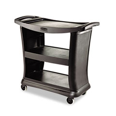 RCP9T6800BK - Rubbermaid® Commercial Executive Service Cart