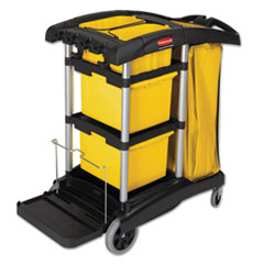 RCP9T73 - HYGEN™ Microfiber Healthcare Cleaning Cart
