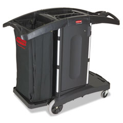 RCP9T76 - Compact Folding Housekeeping Cart