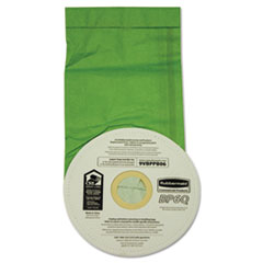 RCP9VBPPB06 - Disposable Vacuum Bags For Rubbermaid® Backpack Vacuums