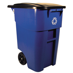 RCP9W27-73BLU - Square Brute® Recycling Rollout Container