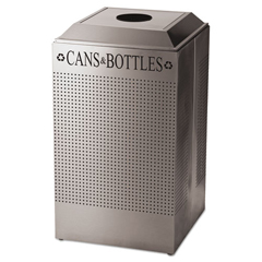 RCPDRR24CSS - Rubbermaid® Commercial Designer Line™ Silhouettes Waste Receptacle