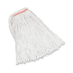 RCPF116-12 - Non-Launderable Premium Cut-End Cotton Wet Mop Heads