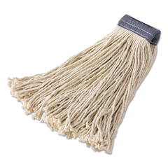 RCPF157 - Rubbermaid® Commercial Non-Launderable Premium Cut-End Cotton Wet Mop Heads