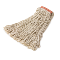 RCPF217 - Non-Launderable 8-Ply Cut-End Wet Mop Heads