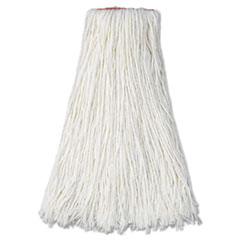 RCPF417WHI - Non-Launderable Premium Cut-End Rayon Mop Heads