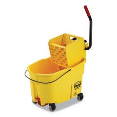 RCPFG618688YEL - Rubbermaid® Commercial WaveBrake® 2.0 Bucket/Wringer Combos