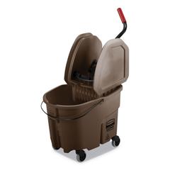 RCPFG757788BRN - Rubbermaid® Commercial WaveBrake® 2.0 Bucket/Wringer Combos