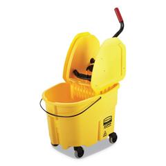 RCPFG757788YEL - Rubbermaid Commercial WaveBrake 2.0 Bucket/Wringer Combos